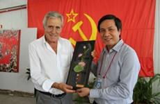 越南《人民报》社代表团出席第39届葡萄牙共产党《前进报》节