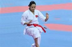 越南在2015年亚洲空手道锦标赛中夺得1金1铜