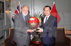武文宁副总理会见英国首相特使大卫·普特南