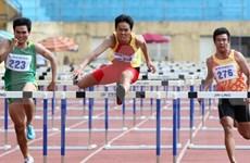 2015年泰国田径公开赛:越南队共获得3金2银3铜