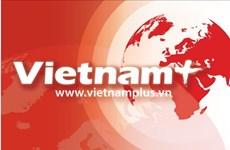 越南政府总理阮晋勇出席老挝甘蒙省小学校工程开工仪式