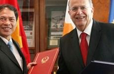 塞浦路斯希望同越南展开务实合作