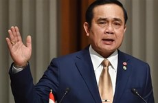 泰国总理提及恢复使用老版宪法的可能性