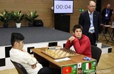 越南棋手有机会闯进2015年世界青年国际象棋锦标赛10强