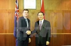 越南公安部部长陈大光结束对澳进行的访问