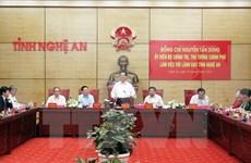 越南政府总理阮晋勇:力争将宜安省建设成为模范省份