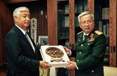 越南与日本促进国防务实合作