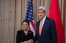 印度尼西亚与美国加强合作