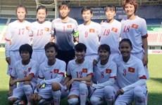 越南女足队正式晋级2016奥运会女足亚洲区第三轮预选赛