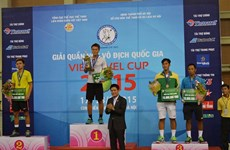 2015年越南国家网球锦标赛闭幕