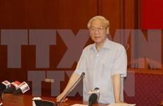 越共中央总书记阮富仲:反腐败工作取得了实质性进展
