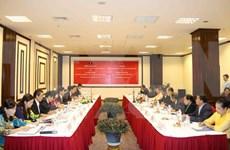 越南与老挝加强民族工作合作