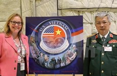 第六届越美防务政策对话在美国华盛顿举行
