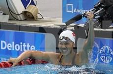 第八届亚洲分龄组游泳锦标赛:越南游泳运动员阮氏映圆问鼎两枚金牌