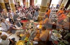 胡志明市:高棉族同胞欢庆报孝节