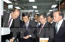 越南国家主席张晋创:致力将越德大学发展成为地区最具威望的大学之一