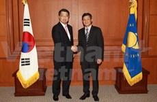 越韩加强合作促进地区金融稳定