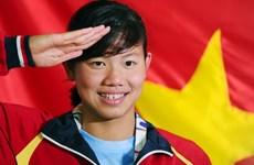 第六届世界军人运动会:越南游泳运动员阮氏映圆参加12个小项