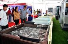 2015年越南芹苴市国际建材展正式开展