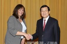 张晋创主席:越德教育合作是两国关系中的亮点