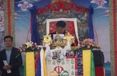 印度竹巴传承精神领袖嘉旺竹巴法王在越南西宁举行超度法会