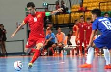 2015年东南亚五人制足球锦标赛:越南队以19比1狂虐菲律宾队晋级半决赛