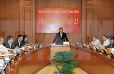 张晋创主席:坚持司法透明促进司法公正廉洁