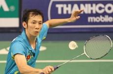 阮进明晋级2015中华台北羽毛球大奖赛第二轮