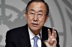 联合国秘书长潘基文欢迎缅甸各方签署全国停火协议