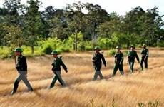 越南国防部副部长阮志咏上将率团出席越柬首次副部长级防务政策对话