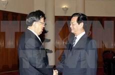 越南政府总理阮晋勇会见中国国家安全部部长