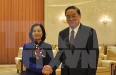 越南祖国阵线中央委员会代表团访问中国