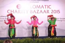 越南参加新加坡慈善展销会