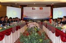 越柬两国讨论推动双方团结友好合作关系的措施