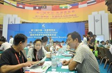 2015年越中国际贸易展销会开展