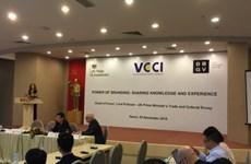 打造越南品牌 加大对欧盟商品出口力度