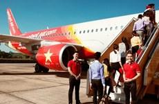 越捷国内三条新航线出售2万张特价机票