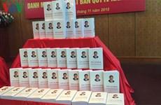 《习近平谈治国理政》越南文版在河内出版发行