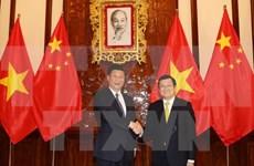 越南社会主义共和国与中华人民共和国联合声明