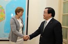 越南与丹麦加强食品和绿色增长合作