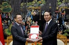 越南公安部与新加坡内政部推动务实合作