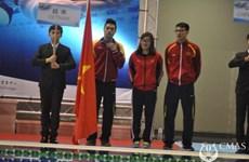 2015年亚洲潜水锦标赛:越南体育代表团位居第三
