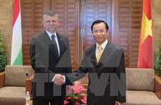 匈牙利国会高级代表团访问岘港市