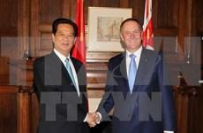 新西兰总理约翰·基即将访越:大力推动越新两国全面合作关系向前发展