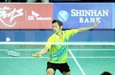 世界羽毛球最新排名:阮进明和武氏妆均上升分别位居39和55