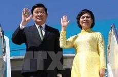 越南国家主席张晋创抵达菲律宾 出席APEC峰会