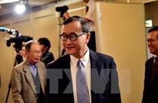 柬埔寨成立执行逮捕反对党救国党领袖桑兰西的委员会