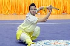 2015年世界武术锦标赛:杨翠薇摘1银1铜