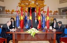 越南—新西兰发表联合声明