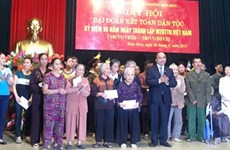 全国各地纷纷举行越南祖国阵线传统日85周年纪念活动